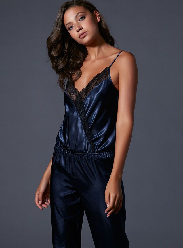 Tanya satin jumpsuit