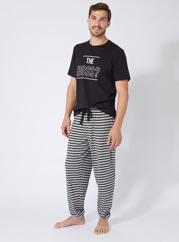 'The boss' mens pyjama set