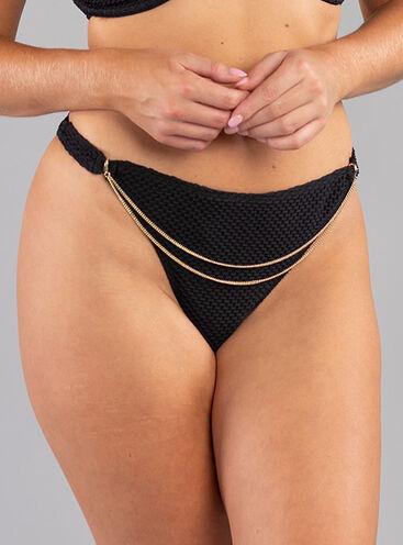 Ibiza chain thong bikini