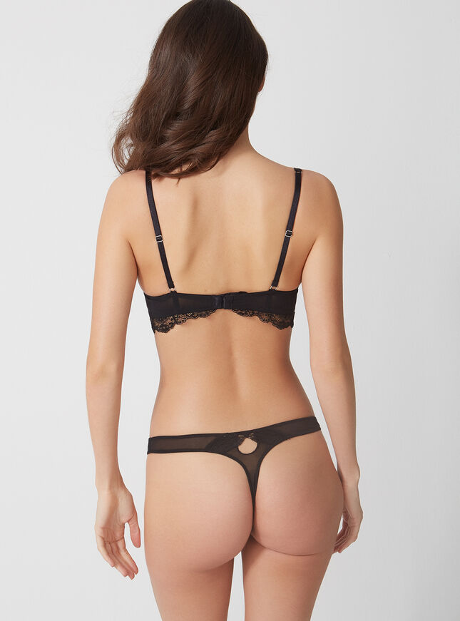 Annette lace thong