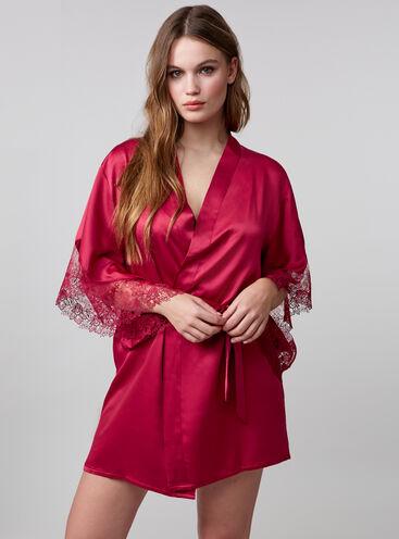 Bouxtique by Boux Avenue guipure lace trim kimono