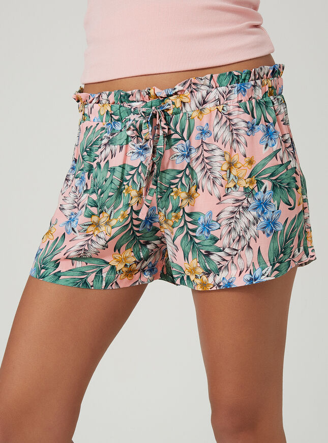 Fern printed shorts