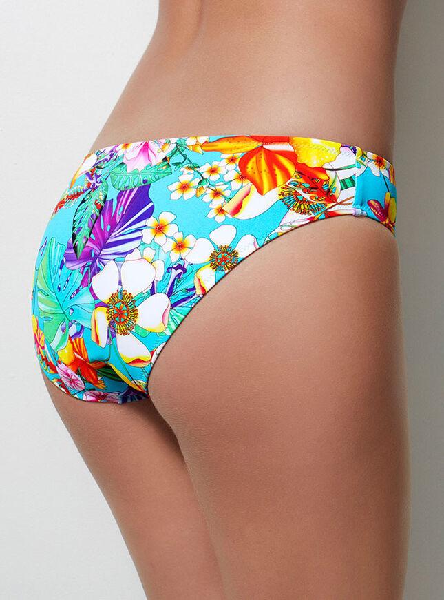 Tahiti floral bikini briefs