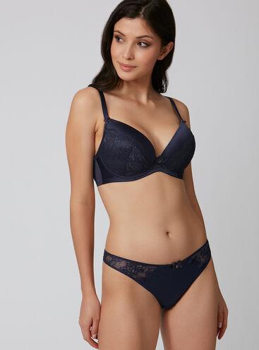 Samantha full support plunge lingerie set