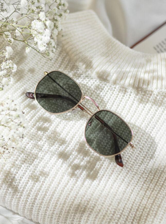 Metro hexagon sunglasses