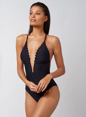 Asmara plunge swimsuit