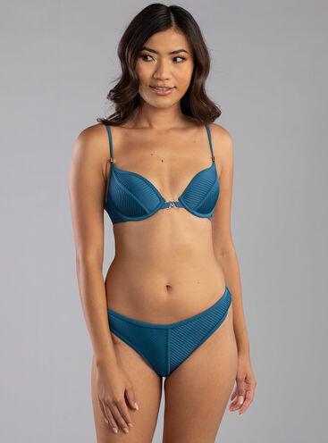 Martinique pleat classic bikini briefs