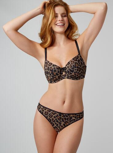 Tallulah leopard thong