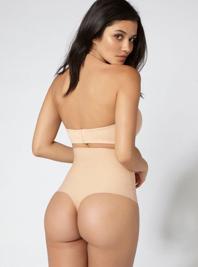 High waisted shaping thong