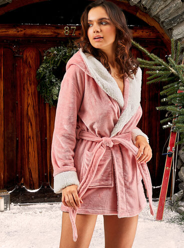 Boux logo dressing gown