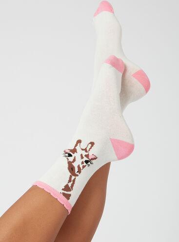 2 pack giraffe socks