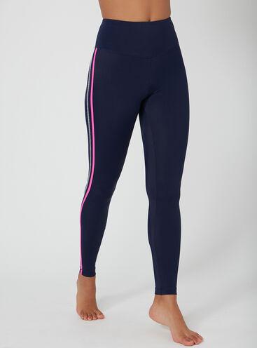 Activewear galaxy stripe leggings