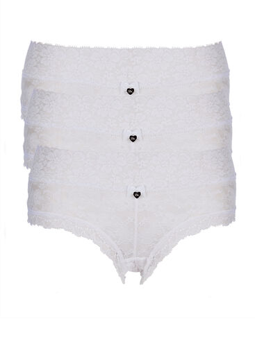 3 pack Lia lacey shorts