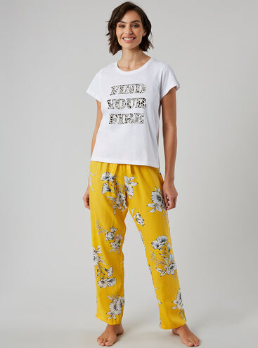 """Find your fire"" pyjama set"