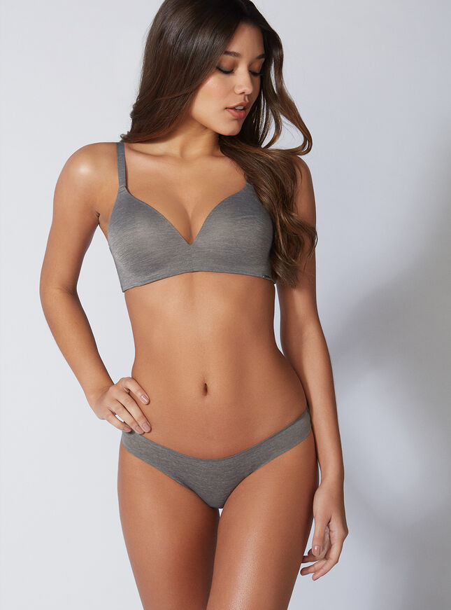 Non-wired lounge bra