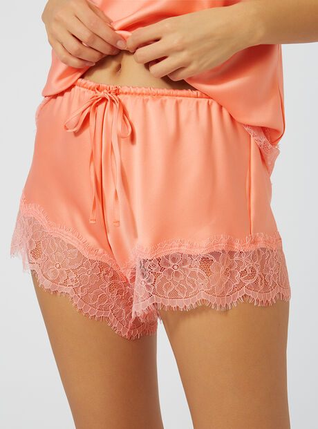Harriet satin shorts