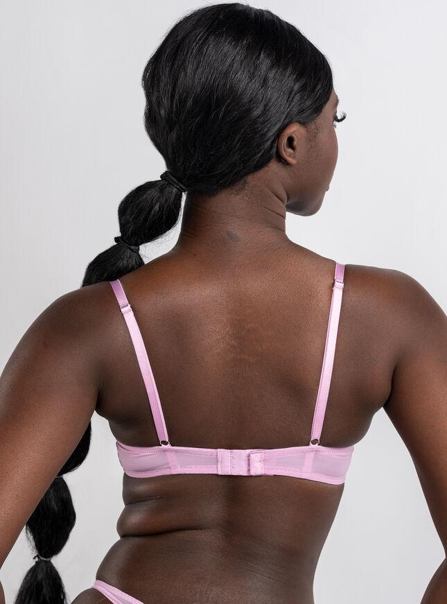 Piper lace and mesh balconette bra