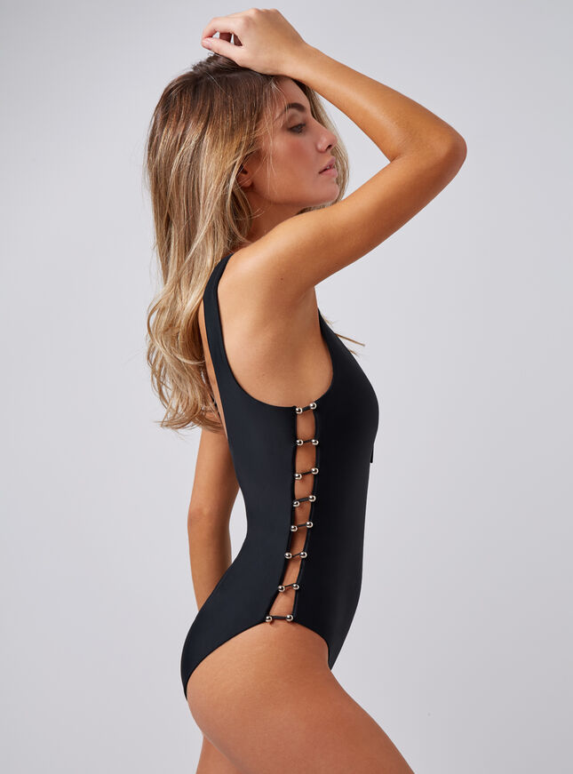 Jumeria strappy side swimsuit