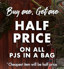 Buy one get one half price on all bras