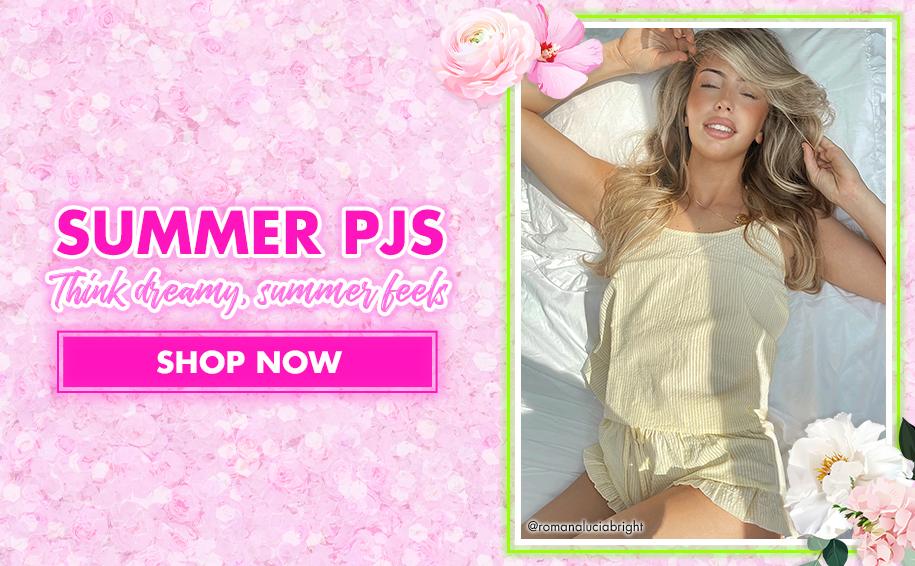 Shop summer pjs