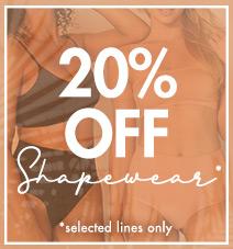 20% off shapewear