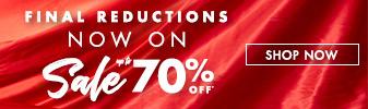 Sale Final reductions