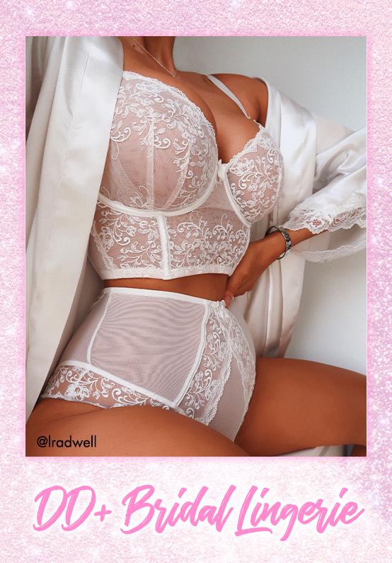 DD+ Bridal lingerie