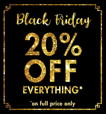 20% off for Black Friday
