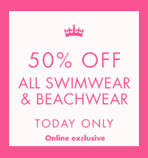 50% off all swim