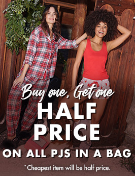 Buy one get one half price PJs in a bag
