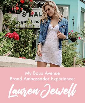 Boux ambassador Lauren Jewell