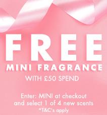 Free mini perfume