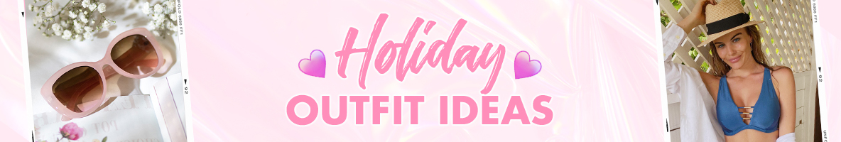 Holiday Outfit Ideas – Boux's Summer Holiday Styling Tips title