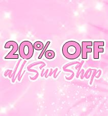 20% off sun shop