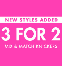3 for 2 knickers