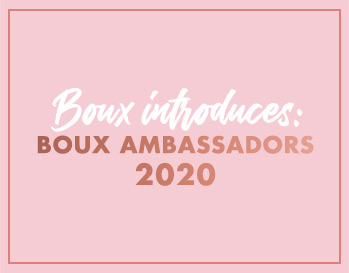 Boux ambassadors 2020