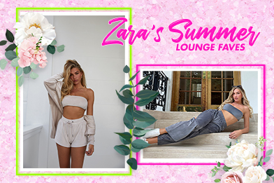 Zara's summer loungewear faves