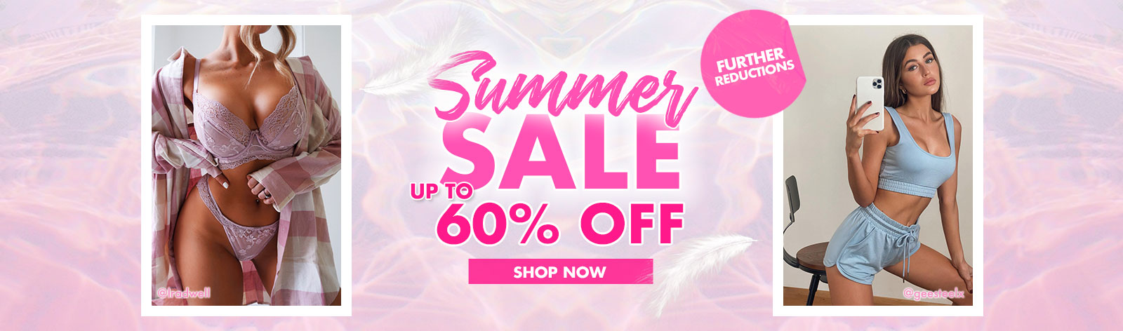 20% off selected lines