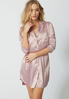Satin nightwear