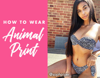 How to wear animal print