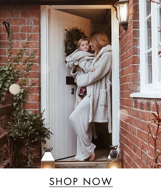 teddy family robe set