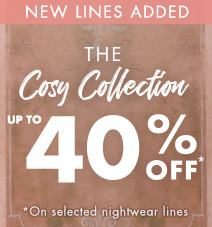 Up to 40% off the cosy collection