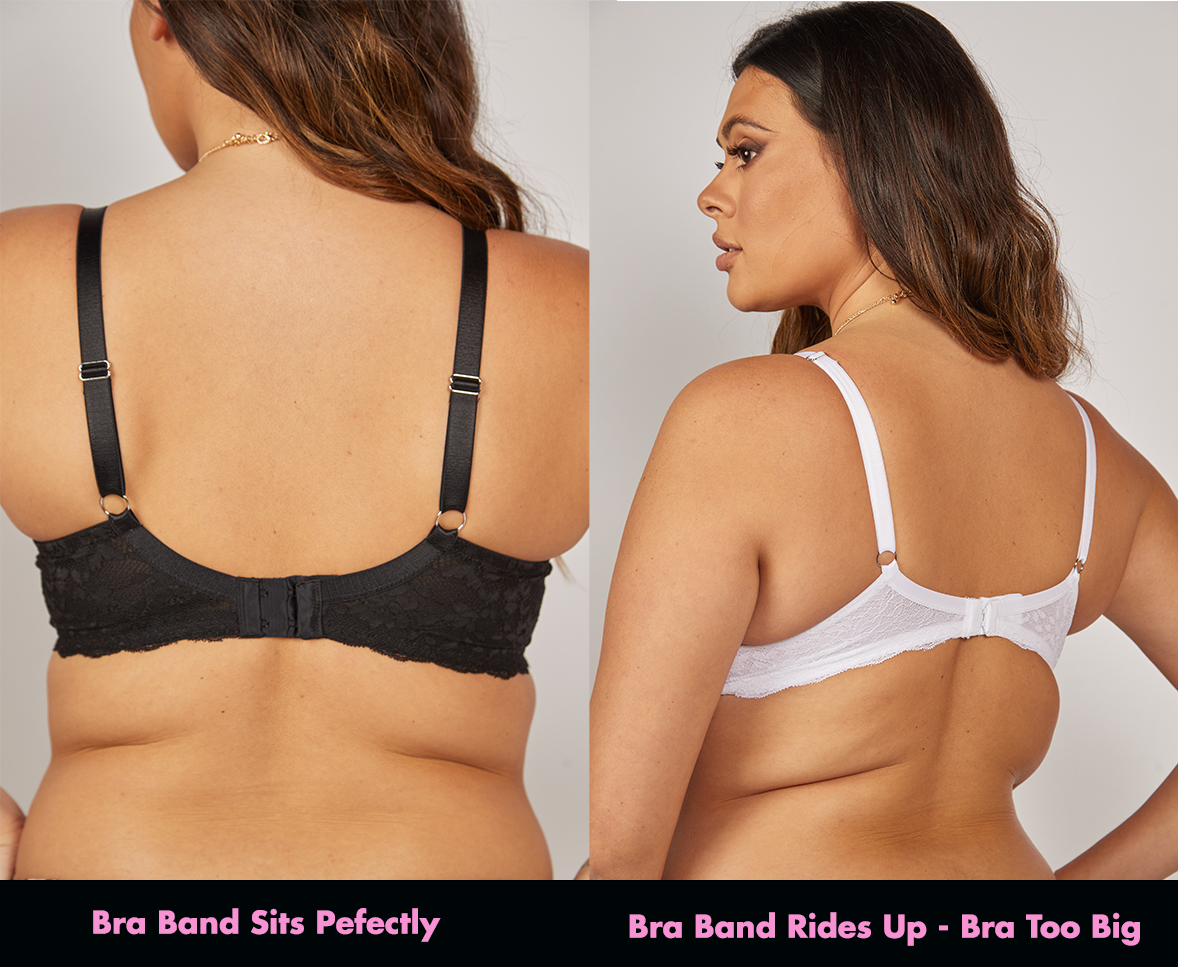 how should a bra band fit