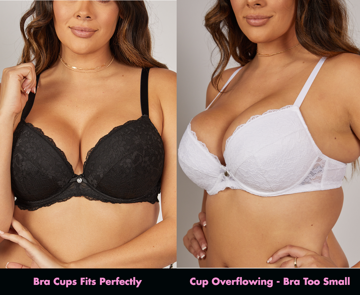 How should bra cups fit?