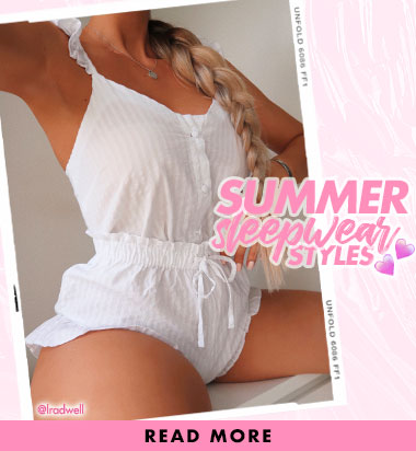 Summer sleepwear