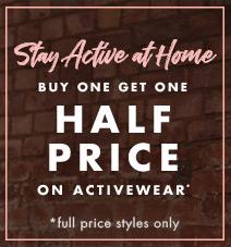 Buy one get one half price activewear