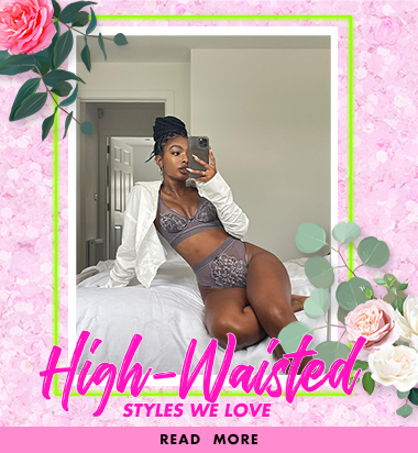 High waisted lingerie & bikinis