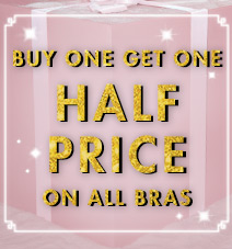 Buy one bra get one half price
