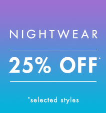 25% off nightwear