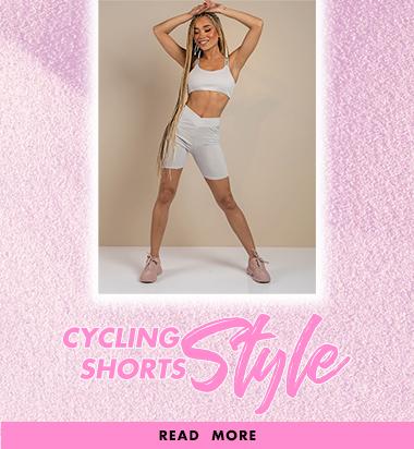 Cycling shorts styling